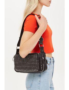 Tokyo Studded Shoulder Bag by Topshop