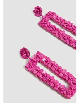 Boucles D'oreilles Pendantes Sequins by Mango