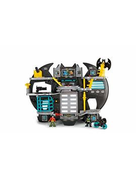 Imaginext X7677 Batman Batcave Playset With Batman And Robin Figures, Command Centre, Darts Launcher And Elevator, Suitable From 3 Year Old by Imaginext