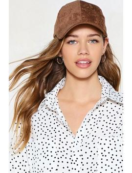 Come To A Head Corduroy Baseball Cap by Nasty Gal