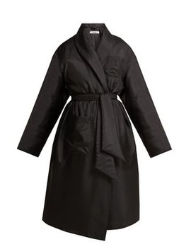 Charlie Padded Satin Coat by Katharine Hamnett London