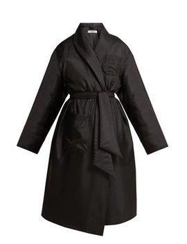 Charlie Padded Satin Coat by Katharine Hamnett London