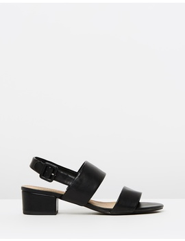Iconic Exclusive   Lou Low Block Heels by Spurr