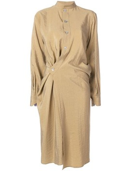 Twisted Hem Shirt Dress by Lemaire