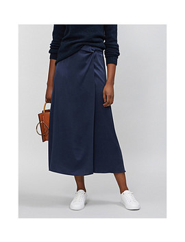 Boutique High Rise Silk Midi Skirt by Topshop