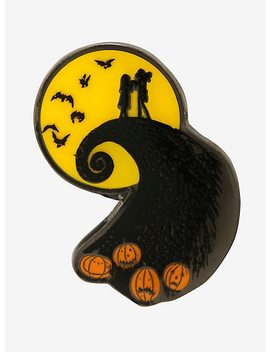 The Nightmare Before Christmas Spiral Hill Enamel Pin   Box Lunch Exclusive by Box Lunch