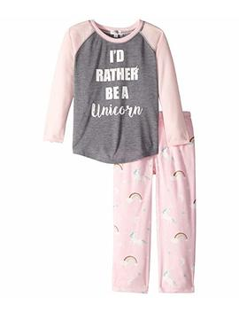 I'd Rather Be A Unicorn Pj Set (Toddler/Little Kids/Big Kids) by P.J. Salvage Kids