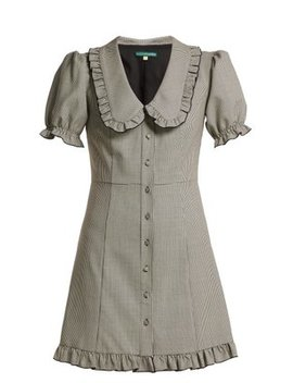 Puritan Collar Babydoll Dress by Alexachung