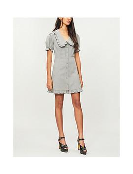 Babydoll Wool Blend Mini Dress by Alexachung