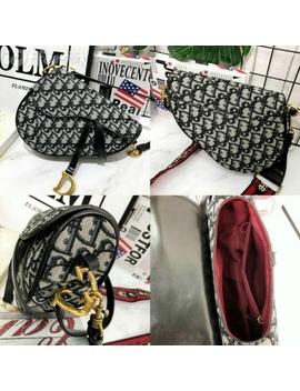 Women's Saddle Bag Leather Pocket Handbag Saddle Bag by I Offer