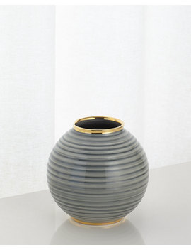 Calinda Round Vase by Aerin
