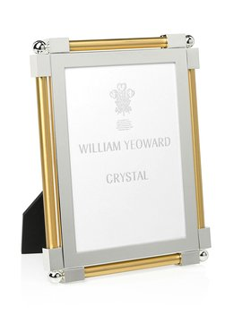 "Classic Gold Tone 5"" X 7"" Picture Frame by William Yeoward"