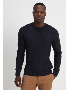 Crew Neck Cable   Strikpullover /Striktrøjer by Esprit