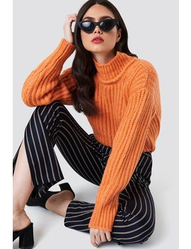 Big Ribbed Oversize Knitted Sweater by Na Kd