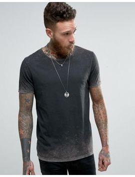 Asos – Stentvättad T Shirt I Longline Modell by Asos