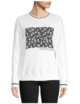 Blocked Floral Sweater by Calvin Klein Jeans
