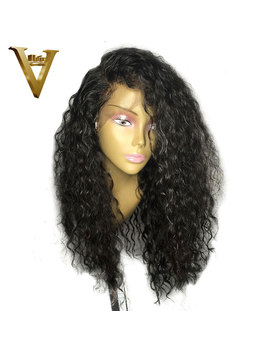 Malaysian Curly 360 Lace Frontal Wig With Baby Hair 8 22 Frontal Human Hair Wigs For Black Women Pre Plucked Natural Hairline by Ali V
