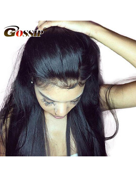 Gossip Hair Lace Front Human Hair Wigs Malaysian Straight Lace Front Wigs For Black Women Long Human Lace Front Wigs For Women  by Gossip