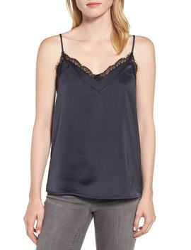 Lace Trim Camisole by Gibson
