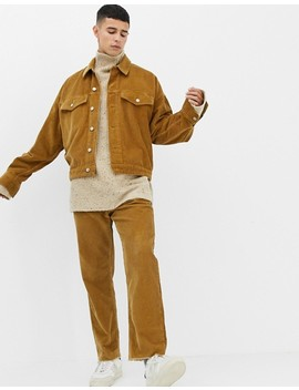 Noak Cord Jacket In Camel by Noak