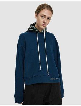 Metallic Hood Sweatshirt by Walk Of Shame
