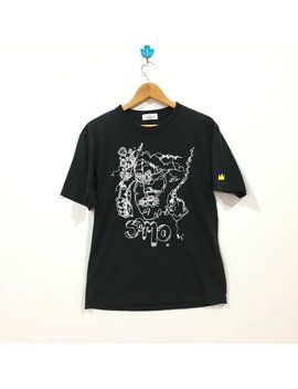 Rare !!! Jean Michel Basquiat Big Logo Tshirt by Etsy