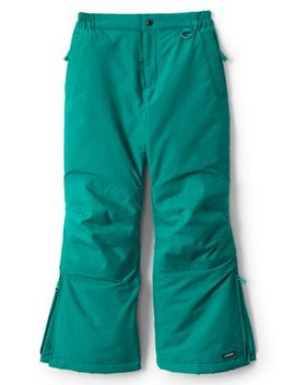 Girls Squall Waterproof Iron Knee Snow Pants by Lands' End