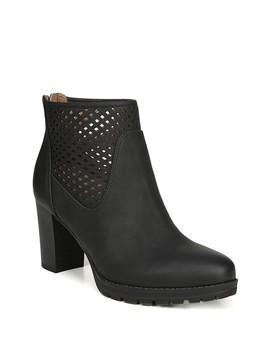 Nelly Laser Cut Bootie   Wide Width Available by Natural Soul