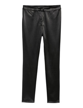 Stretch Pants With A Sheen by H&M
