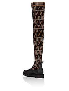 Rockoko Over The Knee Boots by Fendi