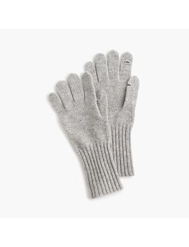 Texting Gloves In Everyday Cashmere by J.Crew