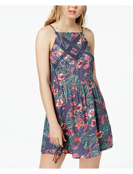 Juniors' Summer Navajo Printed Fit & Flare Dress by Roxy