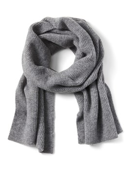 Aire Ribbed Knit Blanket Scarf by Banana Repbulic