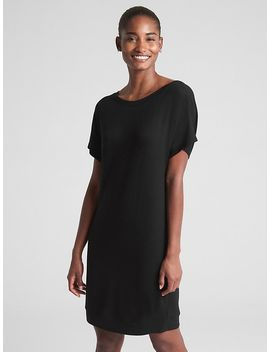 Dolman Sleeve Cutout T Shirt Dress by Gap