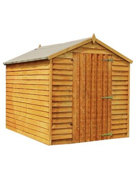 Mercia Overlap Windowless Shed   8 X 6ft by Argos