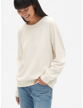 Vintage Soft Raglan Pullover Sweatshirt by Gap