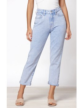 Pac Sun Brighter Blue Mom Jeans by Pacsun