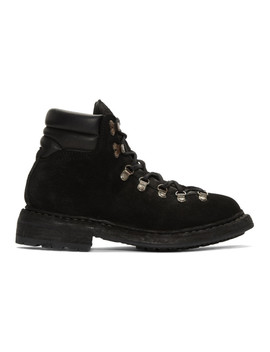 Black Hiking Boots by Guidi