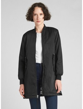 Longline Bomber Jacket by Gap