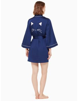 Cat Robe by Kate Spade