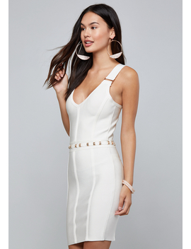 Carly Bandage Mini Dress by Bebe