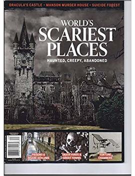 Worlds Scariest Places: Haunted Creepy Abandoned 2017 98 Pages by Amazon