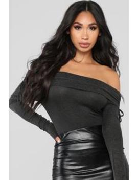 Sparkle And Shine Bodysuit   Black by Fashion Nova