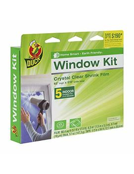 Duck Brand Indoor 5 Window Shrink Film Insulator Kit, 62 Inch X 210 Inch, 281504 by Duck