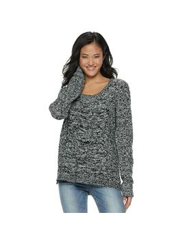 Juniors' So® Cable Knit Sweater by Juniors' So