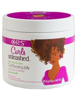 Ors Curls Unleashed  Aloe Vera & Honey  Curl Boosting Jelly 453.6g by Organic Root