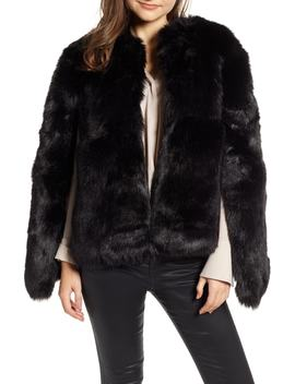 Faux Fur Cape by Halogen®