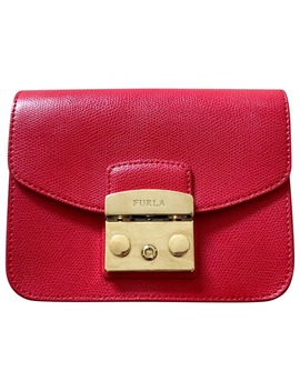 Leather Mini Bag by Furla