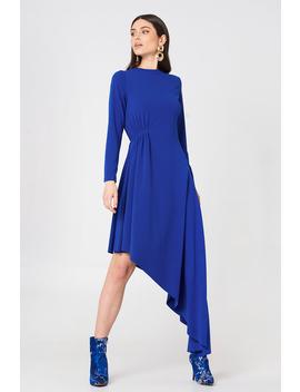 Ls Draped Jersey Dress by Na Kd Party