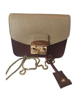 Leather Clutch Purse by Furla